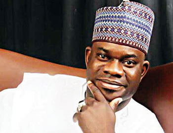 Gov election: APC presents Yahaya Bello to INEC as party's candidate in Kogi