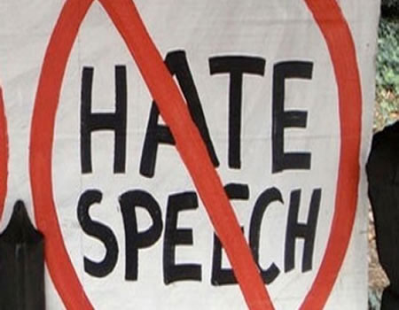'Muslims are subjected to hate speech the most'