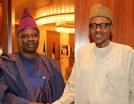 Amosun's legacy projects are first class ? Buhari