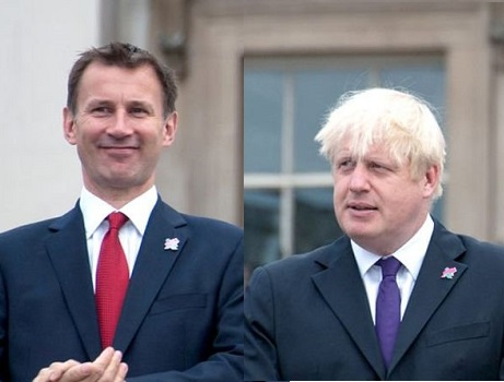 Boris Johnson v Jeremy Hunt: Race to become Britain's next PM