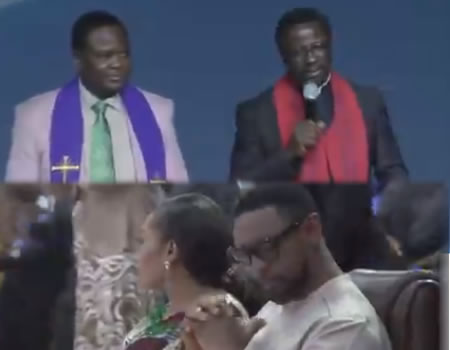Sexual assault: Uproar as CAN declares support for Biodun Fatoyinbo during visit to COZA + VIDEO