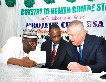 Gombe partners with US organisation to improve healthcare system