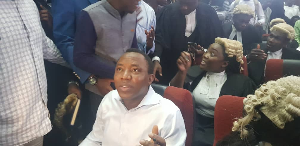 #RevolutionNow: Mixed reactions trail FG's treasonable felony charges against Sowore