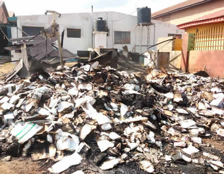Fire guts WHO storage facility in Osogbo