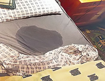 bed-wetting bed wet