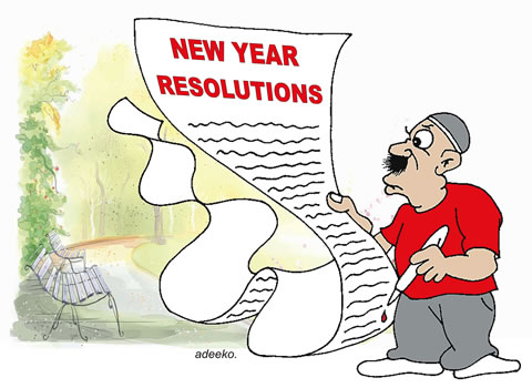 New year RESOLUTION allah