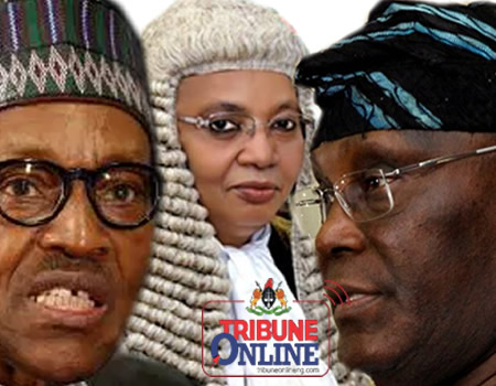 pdp court Buhari, Bulkachuwa, Atiku, Tribunal, Election