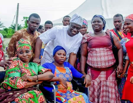 Osun Rep, Bamidele Salam, offers jobs to persons with disabilities – Latest News – Tribune Online