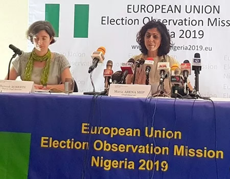 2019 Elections: INEC Results Collation Process Not Transparent ― EU