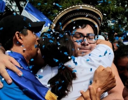 Nicaragua frees 56 protest leaders as part of amnesty