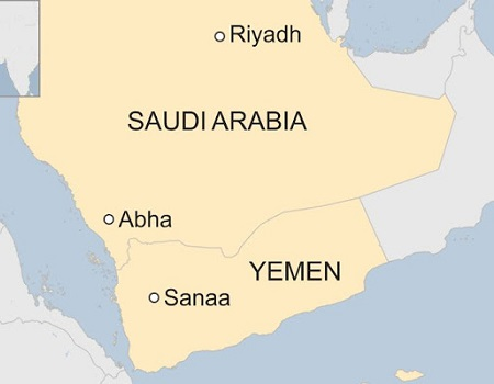 Yemeni rebel missile attack on Saudi airport injures 26