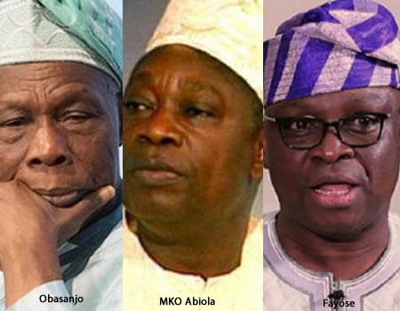 ​June 12: Obasanjo's Ego Stopped Him From Honouring MKO Abiola — Fayose