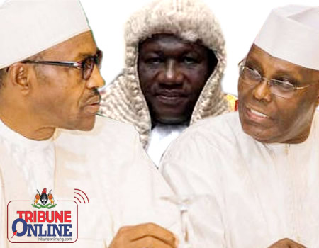 Buhari, Garba and Atiku tribunal