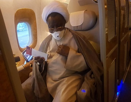 BREAKING: El-Zakzaky leaves Indian hospital, on his way to Nigeria — Shi'ites  » Latest News » Tribune Online