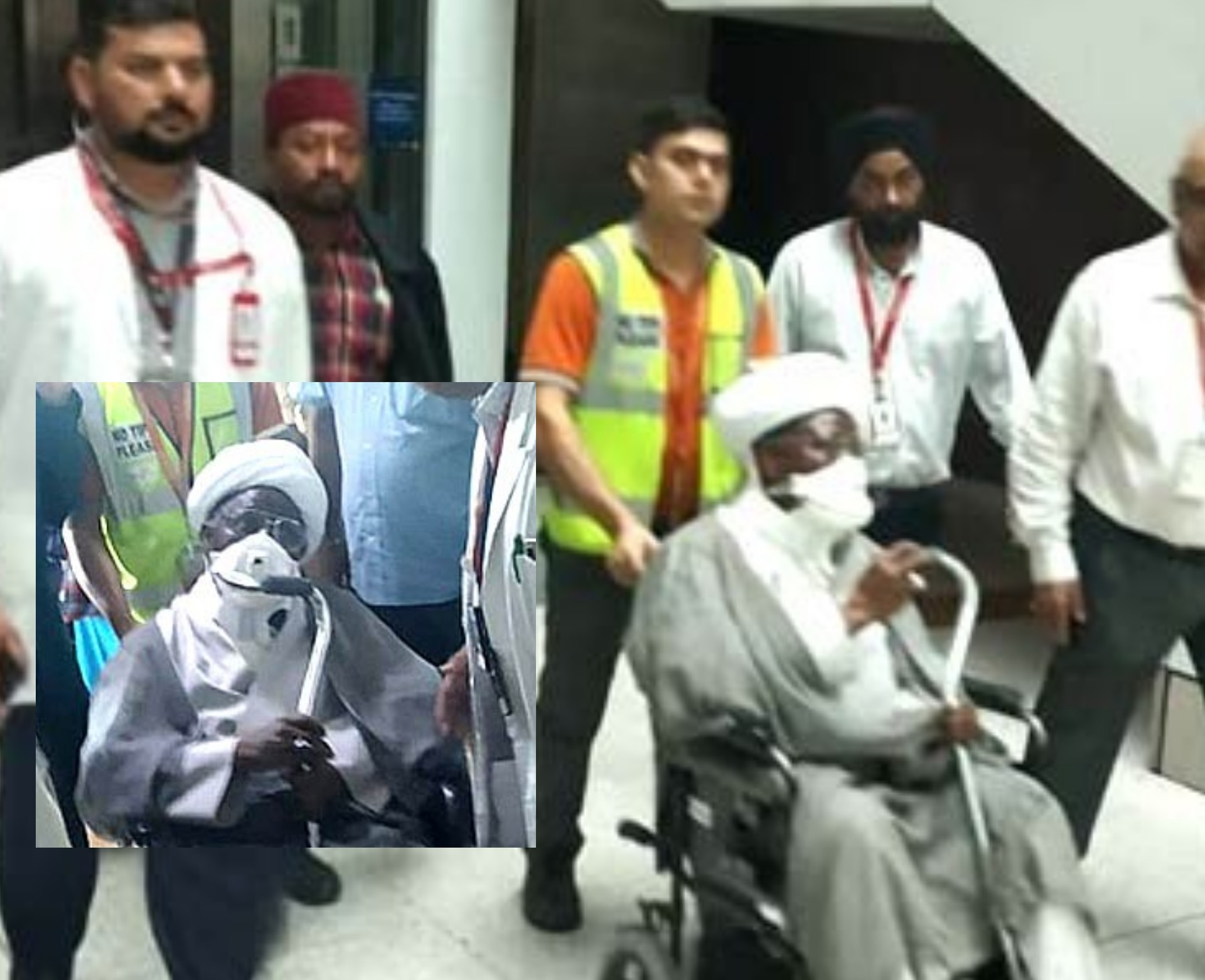 Shiites leader, El-Zakzaky, wife arrive in India for medical treatment  » Latest News » Tribune Online