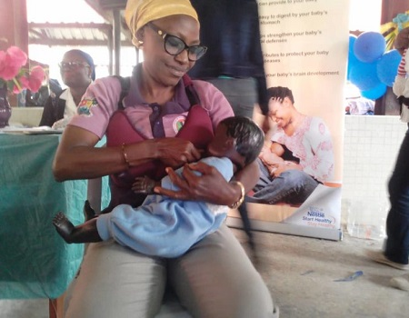 World Breastfeeding Week: Professionals harp on exclusive breastfeeding immediately after delivery