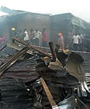 Death, depression as traders lament losses after inferno sweeps through Lagos market » Features » Tribune Online
