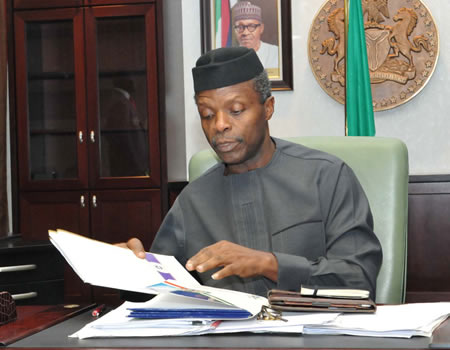 Something definitely wrong with Vice-President Osinbajo's office ― SMBLF