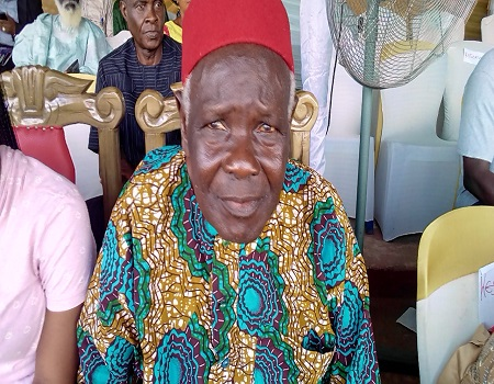 Anambra community honours 89-year-old plumber for fighting erosion